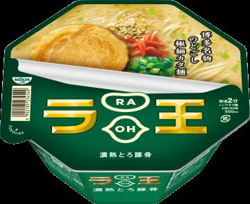 """Nissin """"Raoh, Tonkotsu Flavor""""  Cup, 108g"""