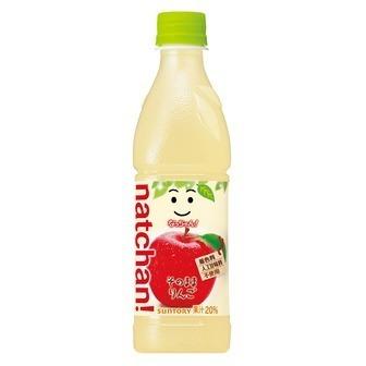 "Suntory, ""Natchan! Apple"" 430ml"