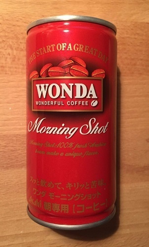 "Asahi ""WANDA, Morning Shot "" Blend Coffee, 185g,"