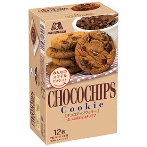 "Morinaga ""Chocochips Cookies"" 130g"