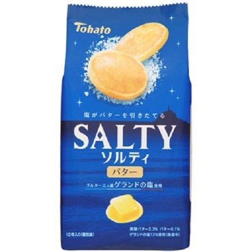 """Tohato """"SALTY"""" Butter Biscuits,85g"""