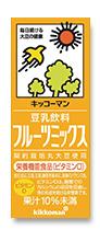 Kikkoman, Soy Milk, Fruits Mix Flavor, Chosei Tonyu, 200ml