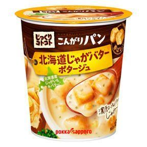 Pokka, Jikkuri Kotokoto, Kongari Pan, Potato and Butter, Instant Soup