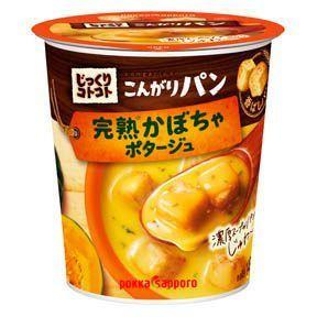 Pokka, Jikkuri Kotokoto, Kongari Pan, Pumpkin Potage, Instant Soup