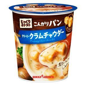 Pokka, Jikkuri Kotokoto, Kongari Pan, Clam Chowder, Instant Soup