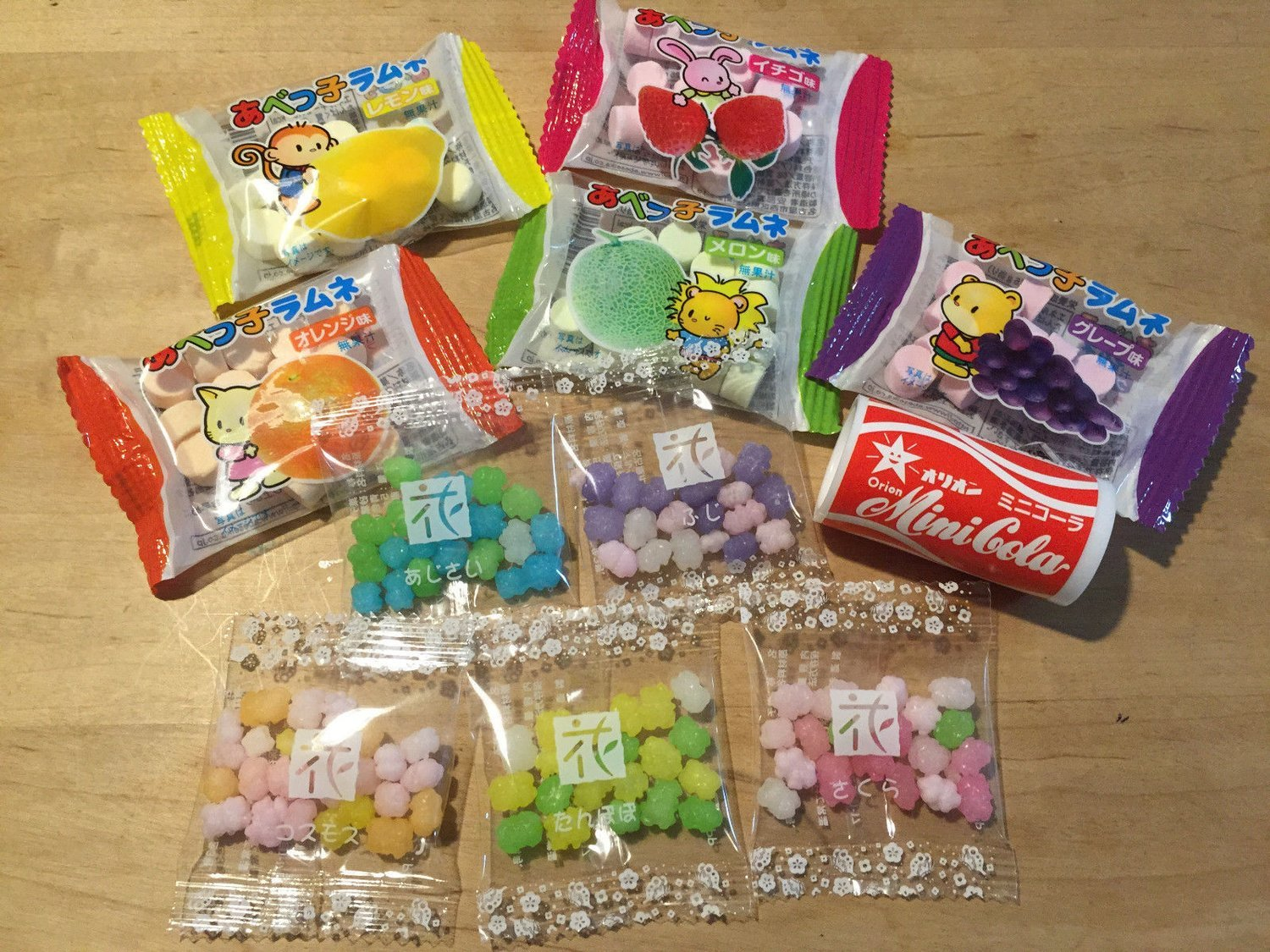 Kompeito, Konpeito and Abekko Ramune Assort Set