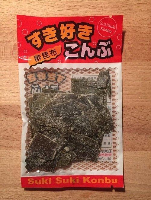"""Yaokin """"Suki Suki Konbu"""", Vinegar Flavor Konbu, Kombu 18g"""