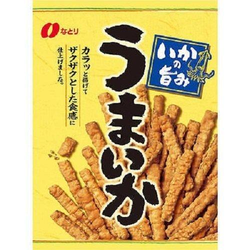 Natori, Umaika, Crispy Squid Snack, Stick Type, Strong Taste, 140g