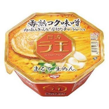 """Nissin """"Raoh, Miso Flavor""""  Cup, 122g"""