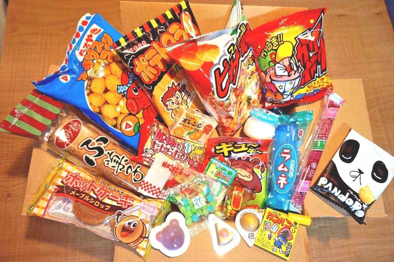 Japanese snack, Selected Dagashi Box, 23 pc set, B, Assortment, 380g
