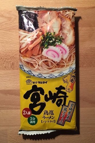 "Marutai ""Miyazaki Chicken Ramen"" High Quality Ramen, 212g"