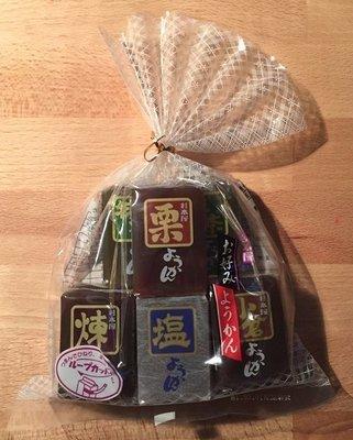 Sugimotoya, Neri Yokan Assort, 5 kinds Yokan, Azuki & Matcha Sweets, 40g × 9pc