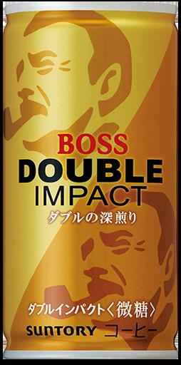 "Suntory ""Boss, Double Impact Semi Sweet"" Coffee, 185g"