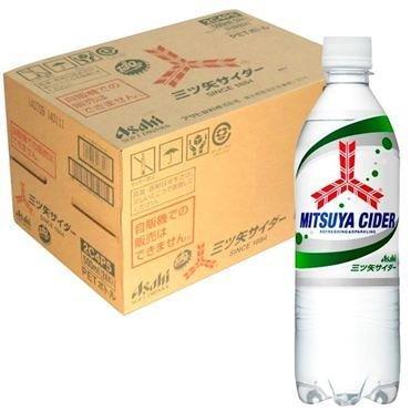 "Asahi ""Mitsuya Cider"" 500ml Plastic Bottle x 24 Bottles"