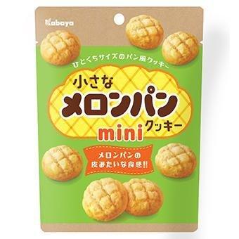 Kabaya, Melon Pan Mini Cookie, 41g
