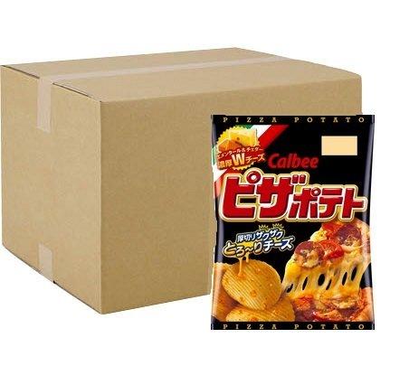 "Calbee ""Pizza Potato"", Potato Chips, 63g x 12 bags"