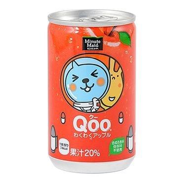 "Coca Cola, ""Qoo, Apple Flavor""  160ml, Alu can"
