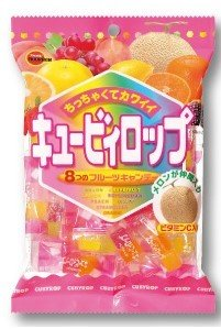 Bourbon, Cubyrop, 8 Flavors in 1 Pack, 112g, Small hard candy