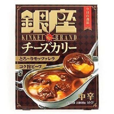 Meiji, 'Ginza Curry' Retort,  Cheese Curry  180g