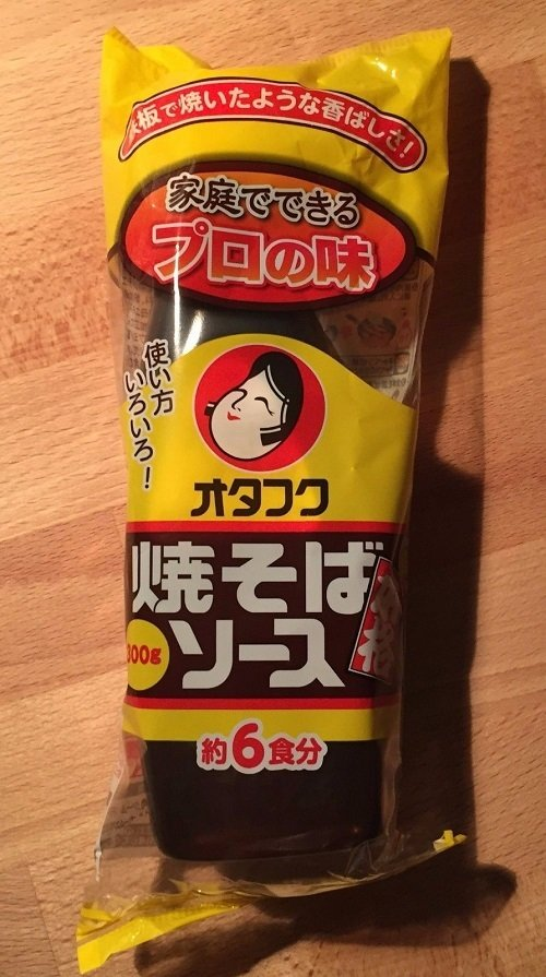 Otafuku, Yakisoba Sauce, 300g in 1 bottle