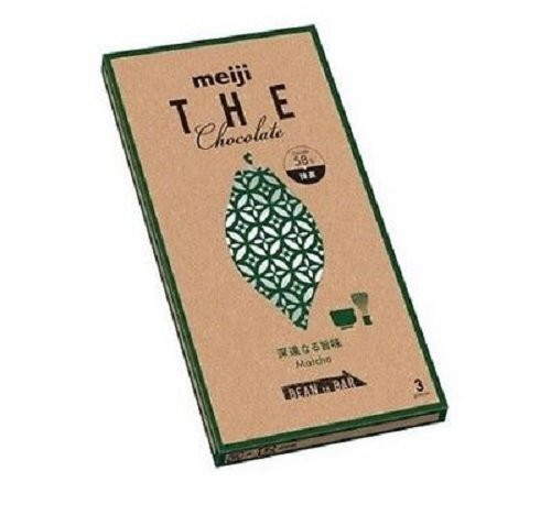 "Meiji, ""The Chocolate Matcha"", 50g in 1 box."