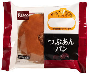 "Pasco ""Tsubu Anpan"" Sweet Bread, Long Life Series"