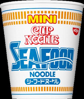 "Nissin ""Mini Cup Noodle, Seafood flavor"" Japanese Instant Ramen, 38g"