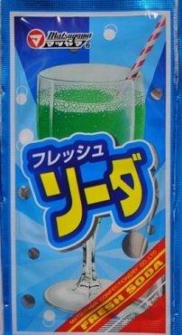 Matsuyama, Fresh Soda, Melon Soda Powder
