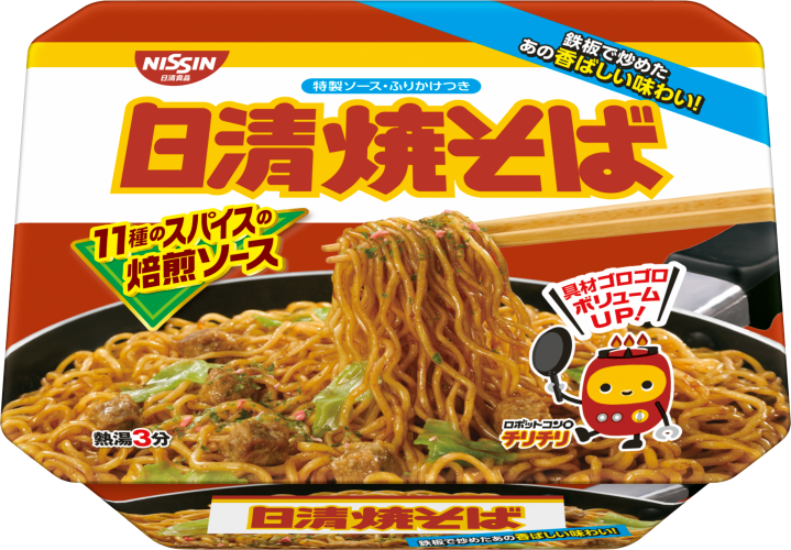 Nissin, Sauce Yakisoba