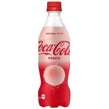 Coca Cola Japan Limited, Coca Cola Peach, 500ml