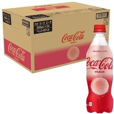 Coca Cola Japan Limited, Coca Cola Peach, 470ml x 24 bottles