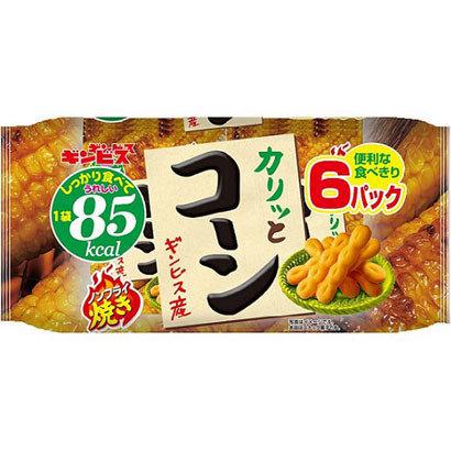 Ginbis, Karitto Corn, Crispy Corn Snack, 18g x 6 mini packs in 1 bag