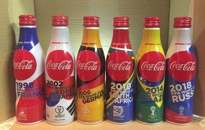 Coca Cola, World Cup Set, Japan Limited Design 250ml, Full Bottle