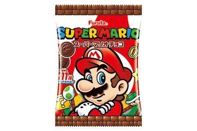 Furuta, Super Mario Chocolate, 32g in 1 bag