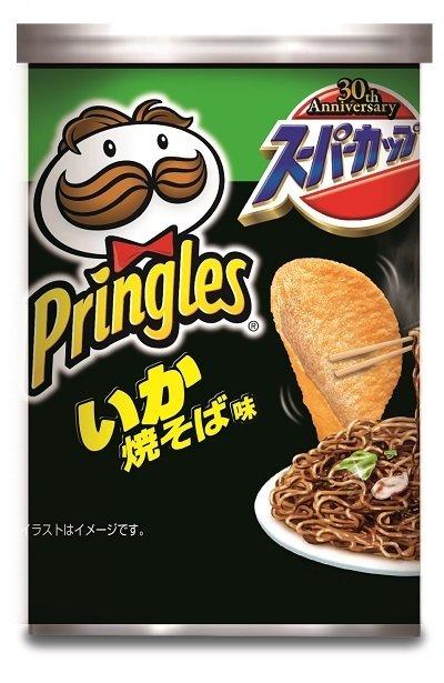 "Pringles ""Squid Sauce Yakisoba"", 53g"