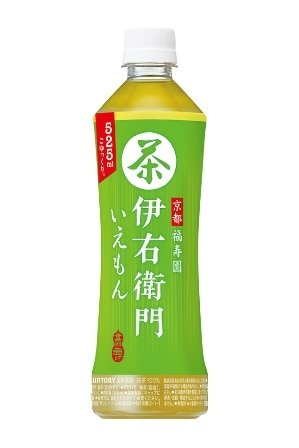 Suntory, Green Tea, Iemon, 525ml