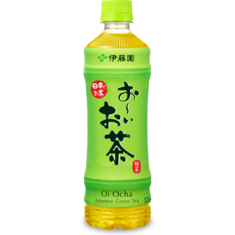 Itoen, Green Tea, Oi Ocha, 525ml