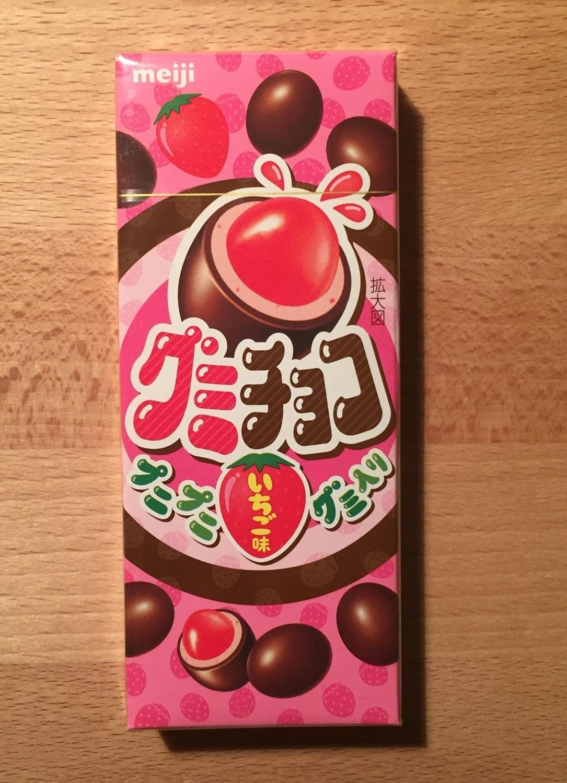 """Meiji """"Gummy Choco"""" Strawberry Gummy & Milk Chocolate, 34g"""