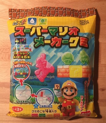 Bandai, DIY Gummy, Super Mario Maker Gummy