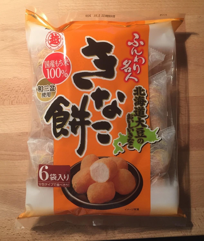 "Echigo Seika ""Kinako Mochi"", Funwari Meijin, 6 packs in 1 bag, 85g"