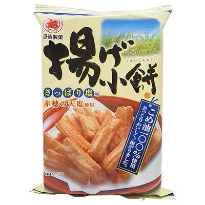 Echigo Seika, Agekomochi, Crispy Rice Cracker, Salt Flavor