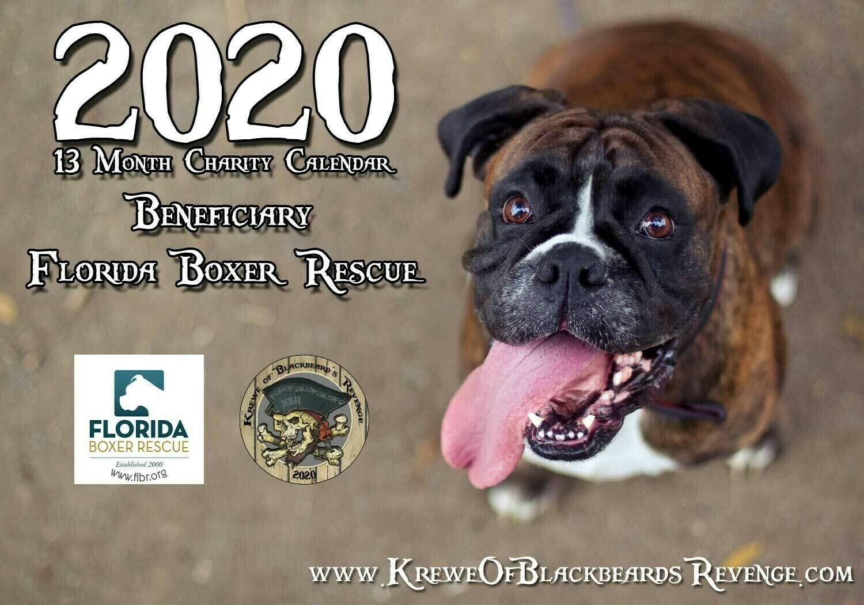 2020 KBR Charity Calendar