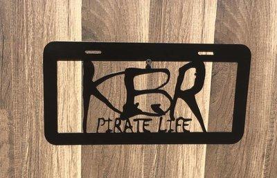 MisFit Metal Works KBR Plate