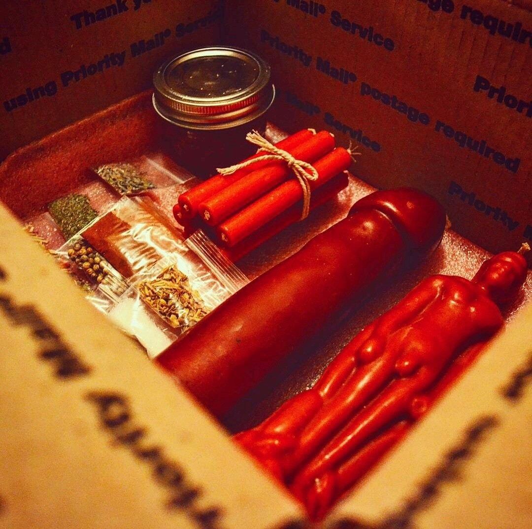 Love Honey Jar Candle Ritual Kit