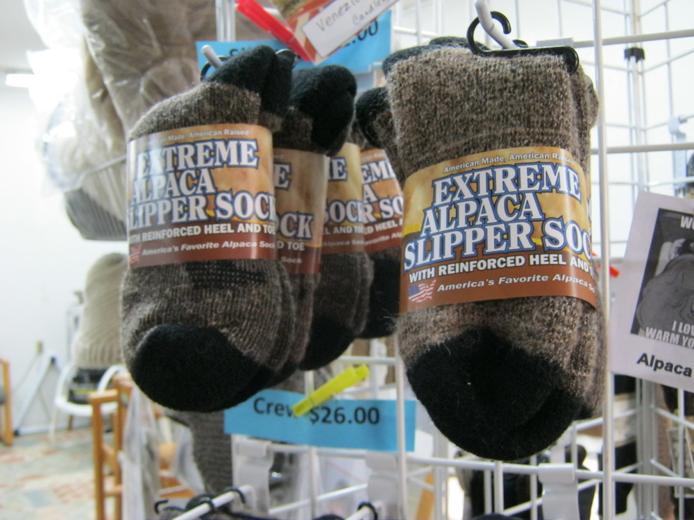 Extreme Alpaca Slipper Socks