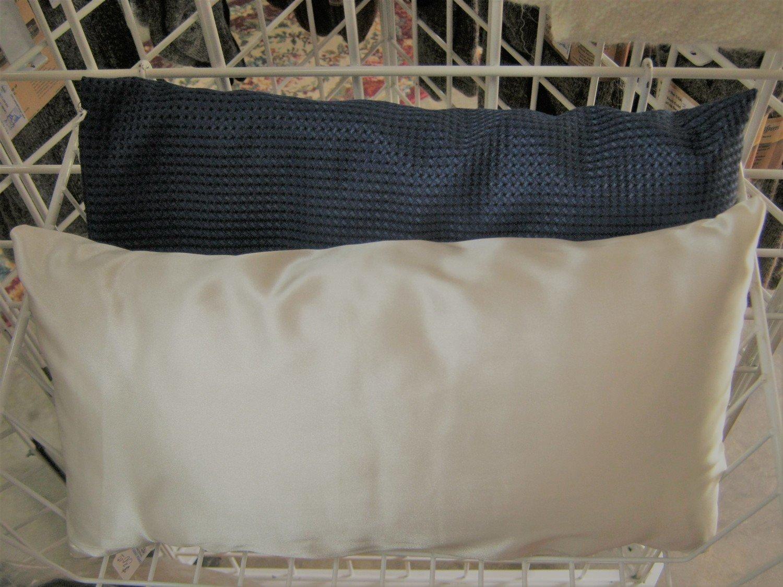 Neck Support Pillow -  hand made, 100% alpaca fiber filling