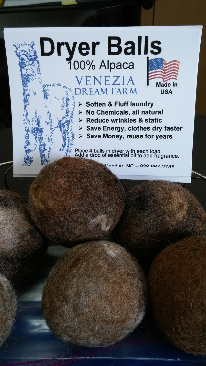 Dryer Balls - pkg of 4