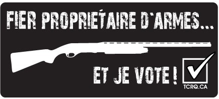 Autocollant - Je vote!