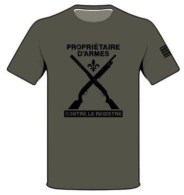 T-shirt - Vert - Propriétaire...