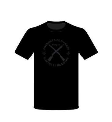 T-Shirt TCRQ (Sombre)